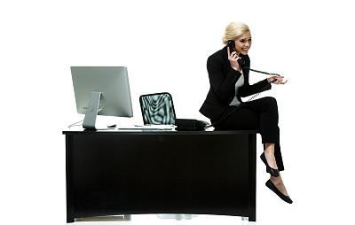女商人,前台,套装,不看镜头,仅成年人,青年人,座机,技术,书桌,商务