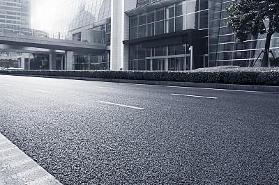 都市风景,上海,外滩,浦东,停车场,度假胜地,水平画幅,无人,市区路,交通