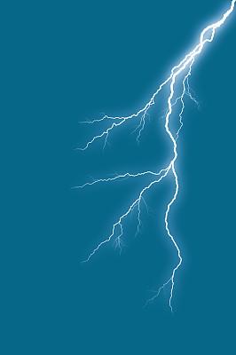 叉状舌,自然,垂直画幅,天空,暴风雨,动物嘴,夜晚,无人,蓝色,自然神力