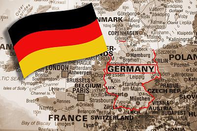 欧洲,德国,国际边境,棕褐色调,地名,旅游目的地,水平画幅,无人,自然地理,特写