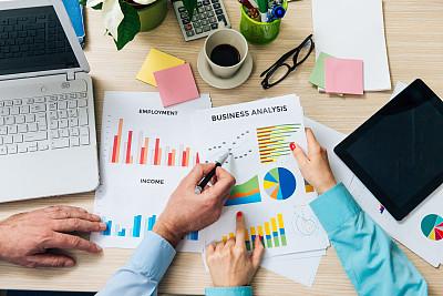 商务,两个人,办公室,商务人士,团队,1040税表,表格填写,税,男商人,经理
