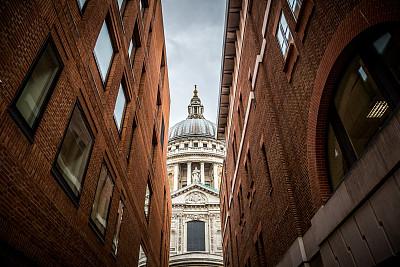 伦敦,克里斯托弗雷恩,拱廊,灵性,水平画幅,工作场所,无人,巴洛克风格