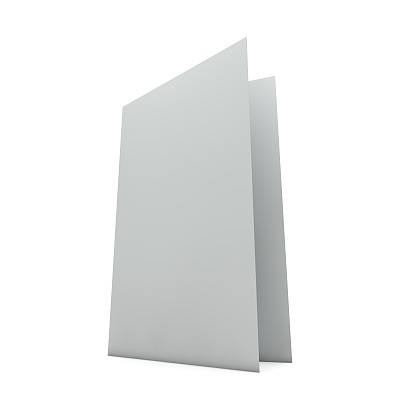 贺卡,空白的,折叠的,白色,生日卡,留白,桌子,形状,无人,绘画插图