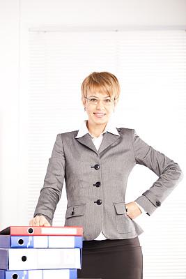 商务,垂直画幅,办公室,美,智慧,美人,秘书,套装,白人,男商人