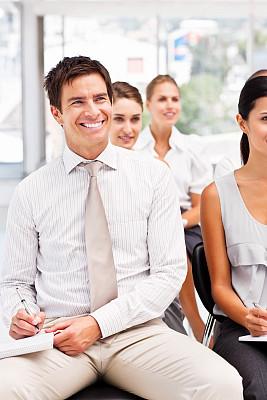 青年人,研究会,商务人士,办公室,公司企业,工作场所,智慧,会议,美人,人群