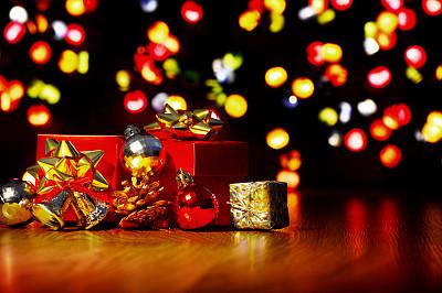 圣诞装饰物,大于号,礼物,水平画幅,无人,摄影