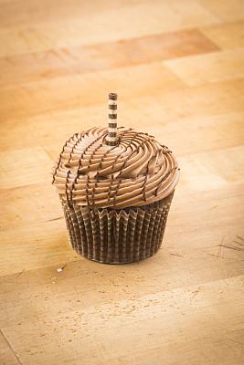 纸杯蛋糕,糖衣,垂直画幅,无人,不健康食物,烘焙糕点,面包店,甜点心,糖,摄影