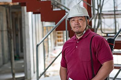 建筑业,工程师,冈山县,质检人员,水平画幅,户外,经理,仅成年人,日本人,白领