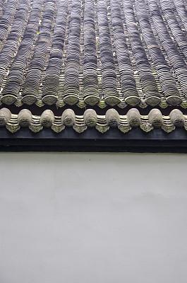 瓦,清朝,屋檐,垂直画幅,平视角,古老的,古典式,过去,建筑檐口,建筑业