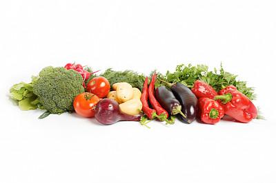 清新,蔬菜,绿色,组物体,概念,青椒,韭,胡萝卜,水平画幅,无人