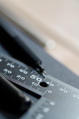 三角板,自动铅笔,直角,毫米,厘米,垂直画幅,英寸,准确,铅,式样