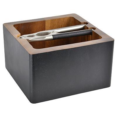 胡桃钳,个人随身用品,银色,木制,无人,白色背景,脆饼干,背景分离,工具,方形画幅