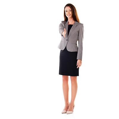 舒服,套装,仅成年人,青年人,信心,公司企业,正装,商务,女人,仅一个女人