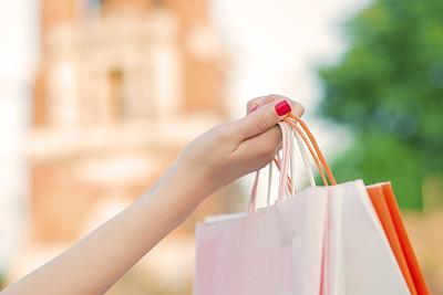 女人,购物袋,永远,茶水间,表现积极,礼品袋,纸袋,休闲活动,顾客,电子商务