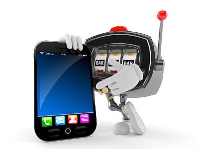 老虎机,机会游戏,水平画幅,形状,性格,卡通,彩色图片,三维图形,技术,便携式信息设备