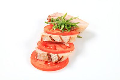鸡肉,三明治,火鸡胸,鸡胸,格子烤肉,水平画幅,无人,胡椒,膳食,西红柿