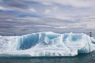 冰山,冰河,breidamerkurjokull冰川,杰古沙龙冰川湖,瓦特纳冰原,冰川泻湖,杰古沙龙湖,宁静,水平画幅,无人