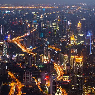 上海,新的,上海环球金融中心,黄浦江,东方明珠塔,外滩,水,天空,夜晚,无人