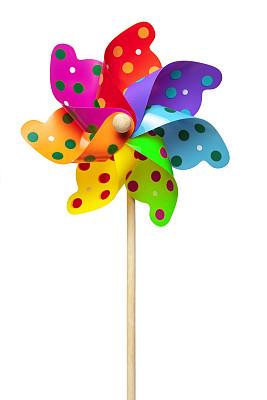 风轮机,多色的,垂直画幅,风,车轮,风力,夏天,生日,自由,想法