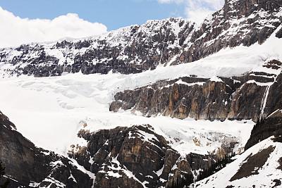 哥伦比亚冰原,冰河,山,仙女座,高椅山脊,冰原大道,冰隙,杰士伯,碧玉,主干路