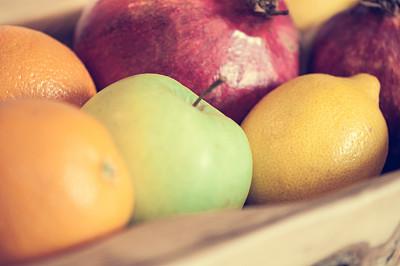 水果,特写,餐盘,油橄榄树,葡萄柚,自助餐,水平画幅,木制,无人,橙子