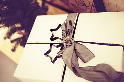 圣诞礼物,美,留白,水平画幅,无人,古典式,乡村风格,特写,工艺品