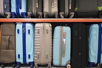 多色的,手提箱,轮式行李,旅途,商务,红色,车轮,粉色,纺织品,行李