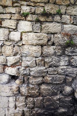 纹理效果,石材,过时的,自然,围墙,背景,摇滚乐,暗色,灰色,垂直画幅