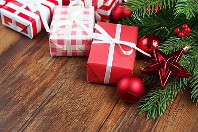 圣诞礼物,背景,晚会,留白,新年,古典式,生日,想法,球体,彩色图片