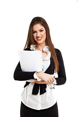 女商人,垂直画幅,美,青少年,白人,经理,青年人,专业人员,看,商业金融和工业