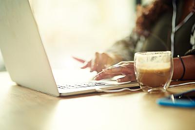 无线技术,咖啡,完美,留白,咖啡店,休闲活动,电子邮件,周末活动,饮料