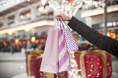 购物袋,手牵手,纸袋,购物狂,办公室,美,水平画幅,顾客,美人