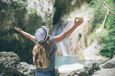 生物学家,树梢,城市游,水,休闲活动,旅行者,夏天,仅成年人,青年人,运动