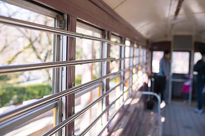 火车,过时的,公园,水平画幅,东京,日本,户外,坏掉的,摄影,步行