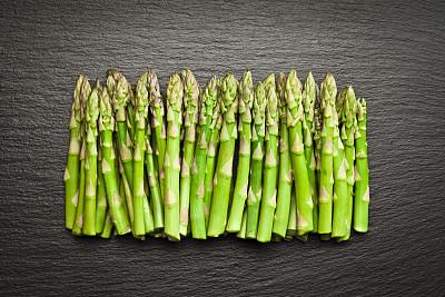 芦笋,有机食品,石片,蔬菜,清新,食品,乡村风格,纹理,大量物体,自然