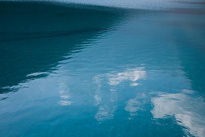 水,湖,自然,宁静,水平画幅,无人,蓝色,户外,特写,海洋