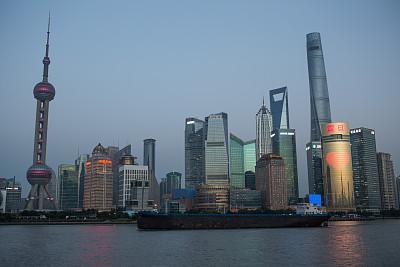 上海,黄浦江,东方明珠塔,外滩,浦东,观测点,2016,水,天空,水平画幅