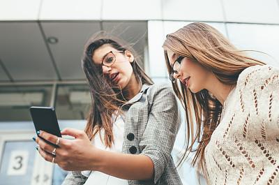 智能手机,女商人,前面,留白,套装,拨电话,仅成年人,现代,青年人,彩色图片