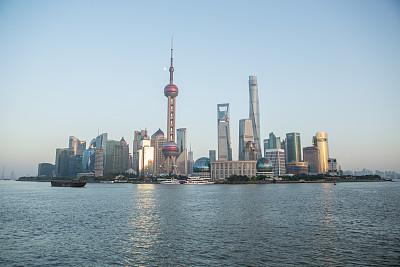 上海,东方明珠塔,黄浦江,外滩,浦东,观测点,2016,水,天空,水平画幅