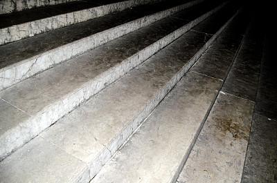 台阶楼梯,台阶,新的,水平画幅,夜晚,无人,户外,石材,图像,楼梯