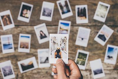 一次成像照相机,桌子,痕迹,相册,另眼相看,即时成像,记忆,卷积云,影像转移,拍摄场景