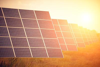 太阳能电池板,太阳能发电站,替代能源,太阳能,水平画幅,能源,无人,格子,特写,明亮