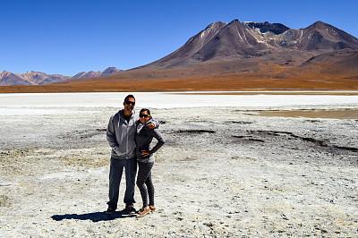 乌尤尼盐沼,玻利维亚,青年伴侣,奥尔托,阿塔卡马大区,阿塔卡马沙漠,盐滩,玻利维亚安迪斯山脉,阿尔蒂普拉诺山脉,盐湖