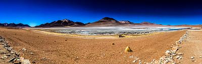 乌尤尼盐沼,玻利维亚,泻湖,色彩鲜艳,奥尔托,盐滩,玻利维亚安迪斯山脉,阿塔卡马沙漠,阿塔卡马大区,铜