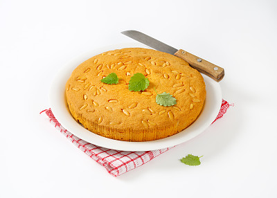 清新,蛋糕,饮食,圆形,甜馅饼,水平画幅,纺织品,无人,表格,烘焙糕点