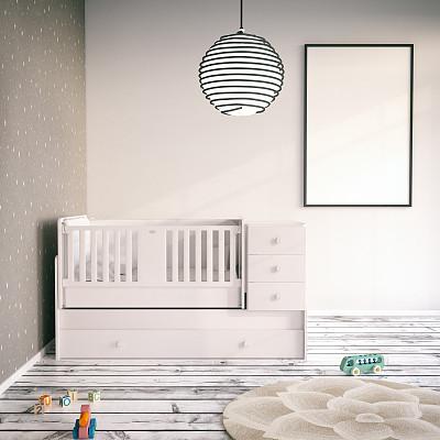 住宅房间,童年,儿童房,婴儿床,留白,边框,进行中,无人,家庭生活,居住区