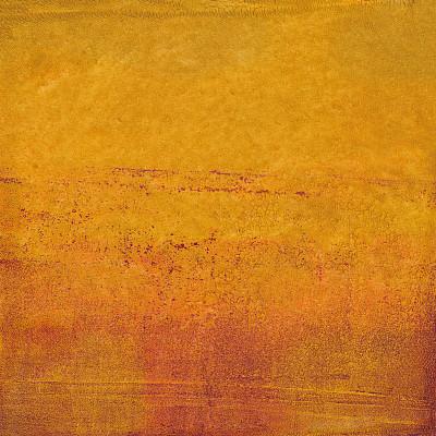 斑点,渐变背景,青绿色,复合媒材,混合素材纸本,橙色,水彩画颜料,斑驳的,丙稀画