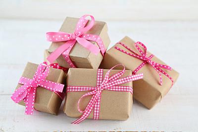 礼物,牛皮纸,母亲节,贺卡,留白,水平画幅,无人,纸板,组物体