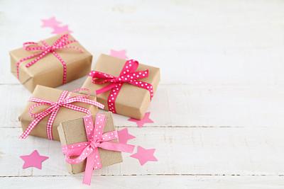 礼物,牛皮纸,贺卡,留白,水平画幅,无人,纸板,组物体,生日