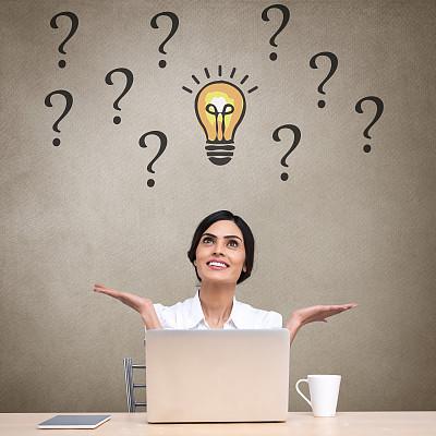 女商人,使用手提电脑,举起手,四肢,印度人,经理,仅成年人,疲劳的,网上冲浪,想法
